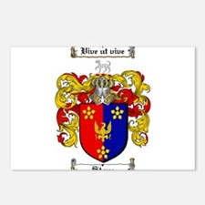 Stone Coat of Arms Postcards (Package of 8)