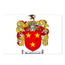 Sutherland Coat of Arms Postcards (Package of 8)