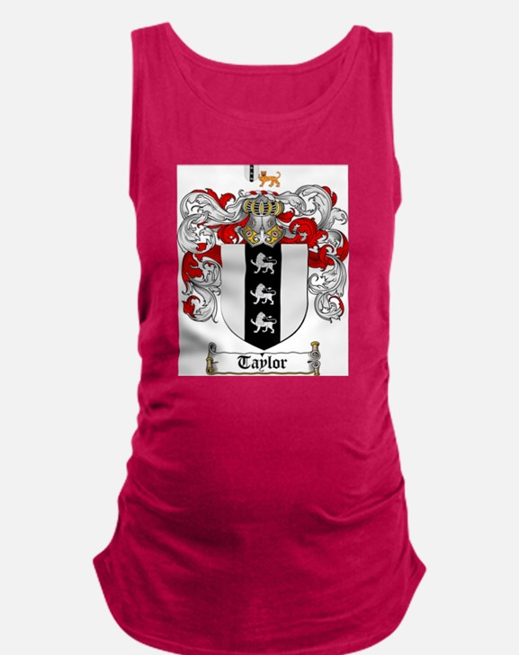 Taylor Coat of Arms Maternity Tank Top