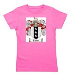 Taylor Coat of Arms Girl's Tee