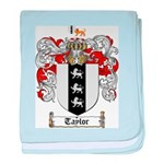 Taylor Coat of Arms baby blanket