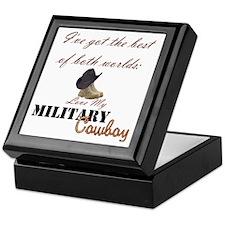 Military Cowboy Keepsake Box