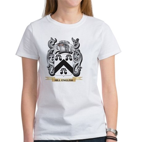 Hill-English Coat of Arms - Family Crest T-Shirt