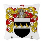 Thompson Coat of Arms Woven Throw Pillow