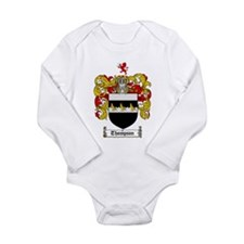 Thompson Coat of Arms Long Sleeve Infant Bodysuit