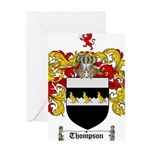 Thompson Coat of Arms Greeting Card