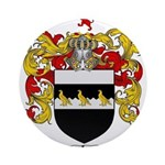 Thompson Coat of Arms Ornament (Round)