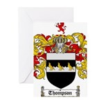 Thompson Coat of Arms Greeting Cards (Pk of 10)