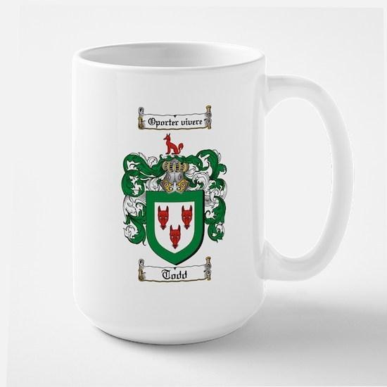 Todd Coat of Arms Large Mug