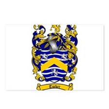 Tucker Coat of Arms Postcards (Package of 8)