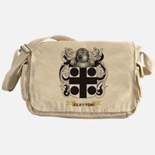 Clayton Coat of Arms Messenger Bag