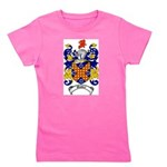 Waddell Coat of Arms Girl's Tee