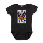 Waddell Coat of Arms Baby Bodysuit