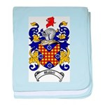 Waddell Coat of Arms baby blanket