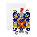 Waddell Coat of Arms Greeting Card
