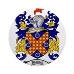 Waddell Coat of Arms Ornament (Round)