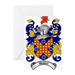 Waddell Coat of Arms Greeting Cards (Pk of 10)