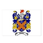 Waddell Coat of Arms Postcards (Package of 8)