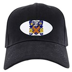 Waddell Coat of Arms Black Cap