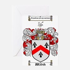 Walsh Coat of Arms Greeting Card