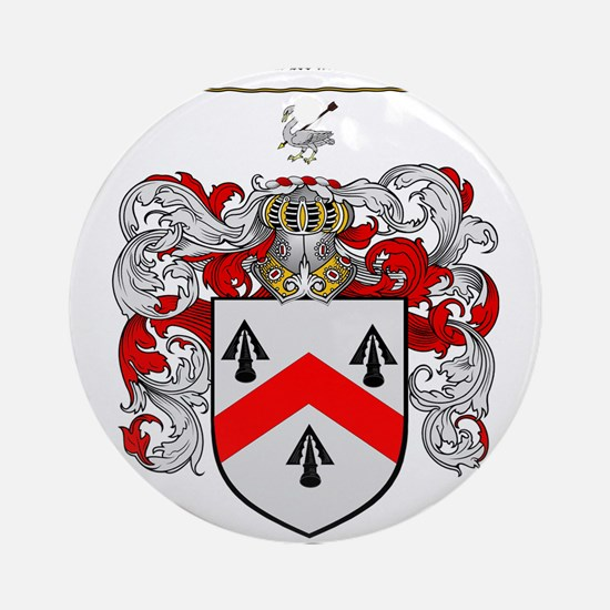 Walsh Coat of Arms Ornament (Round)