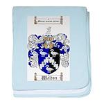 Walton Coat of Arms baby blanket