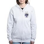 Walton Coat of Arms Women's Zip Hoodie