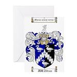 Walton Coat of Arms Greeting Card