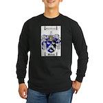 Walton Coat of Arms Long Sleeve Dark T-Shirt