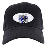 Walton Coat of Arms Black Cap