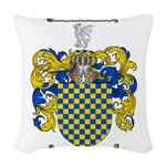 Warren Coat of Arms Woven Throw Pillow