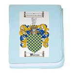 Warren Coat of Arms baby blanket