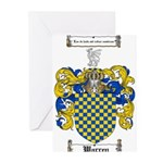 Warren Coat of Arms Greeting Cards (Pk of 20)
