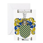 Warren Coat of Arms Greeting Card