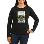 Warren Coat of Arms Women's Long Sleeve Dark T-Shi
