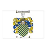 Warren Coat of Arms Postcards (Package of 8)
