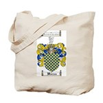 Warren Coat of Arms Tote Bag