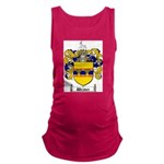 Weaver Coat of Arms Maternity Tank Top