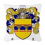 Weaver Coat of Arms Woven Throw Pillow