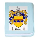 Weaver Coat of Arms baby blanket