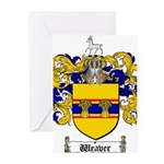 Weaver Coat of Arms Greeting Cards (Pk of 20)