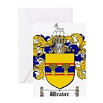 Weaver Coat of Arms Greeting Card
