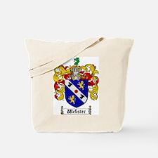 Webster Coat of Arms Tote Bag