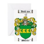 Wheeler Coat of Arms Greeting Card