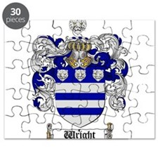 Wright Coat of Arms Crest Puzzle