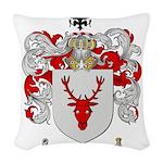Ziegler Coat of Arms Crest Woven Throw Pillow