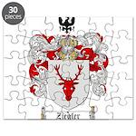 Ziegler Coat of Arms Crest Puzzle