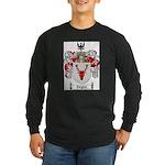 Ziegler Coat of Arms Crest Long Sleeve Dark T-Shir
