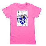 jones coat of arms Girl's Tee
