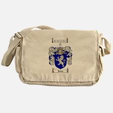 jones coat of arms Messenger Bag